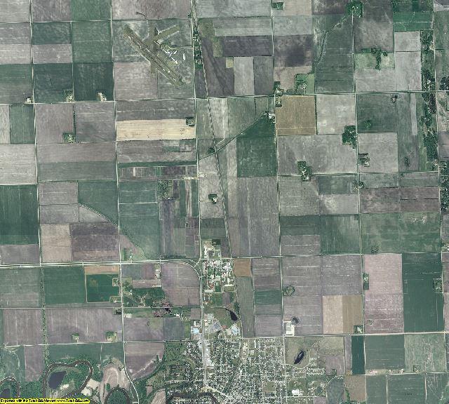 Polk County, Minnesota aerial photography
