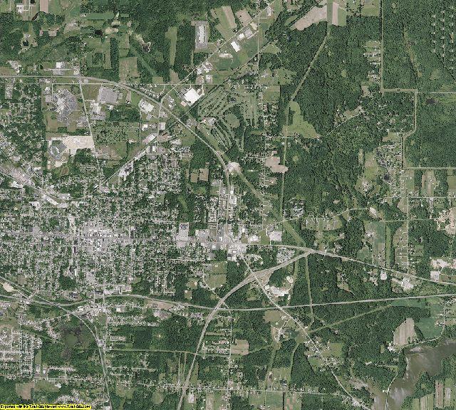 Portage County, Ohio aerial photography