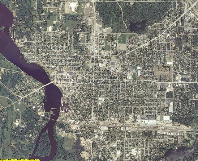 Portage County, Wisconsin aerial photography