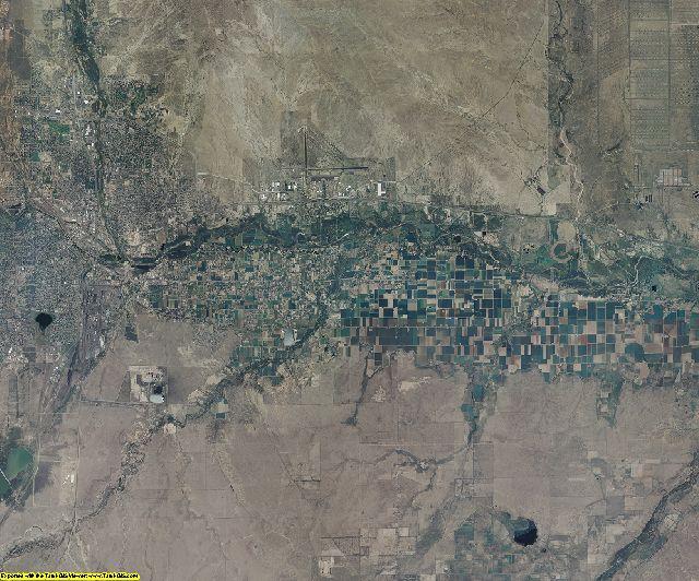 Pueblo County, Colorado aerial photography
