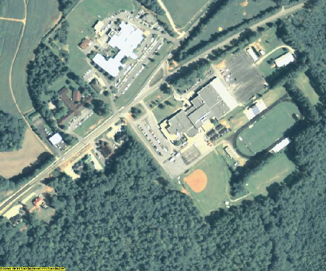 Putnam County, GA aerial photography detail