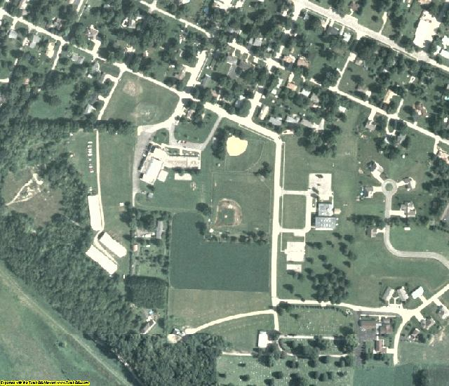 Putnam County, IL aerial photography detail