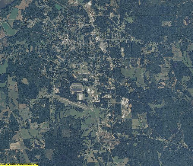 Randolph County, Alabama aerial photography