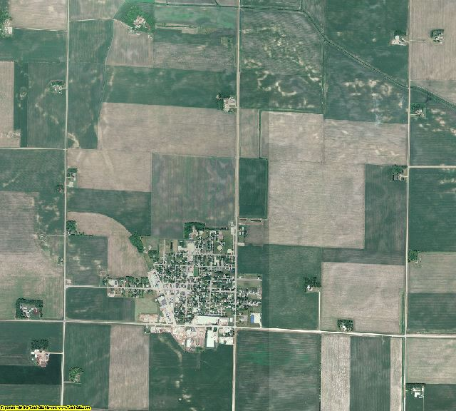 Redwood County, Minnesota aerial photography