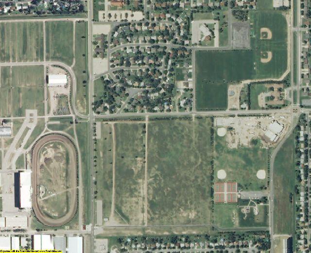 Reno County, KS aerial photography detail