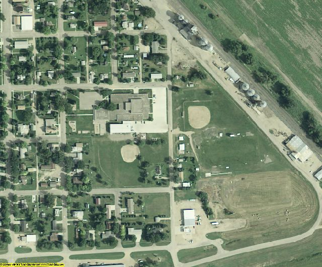 Richland County, ND aerial photography detail