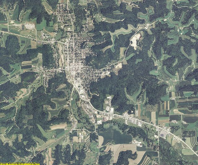 Richland County, Wisconsin aerial photography