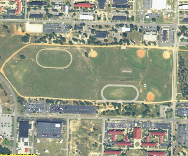 Richmond County, GA aerial photography detail