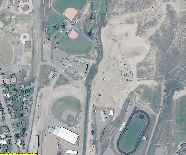 Rio Blanco County, CO aerial photography detail
