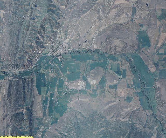 Rio Blanco County, Colorado aerial photography