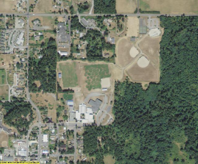 San Juan County, WA aerial photography detail