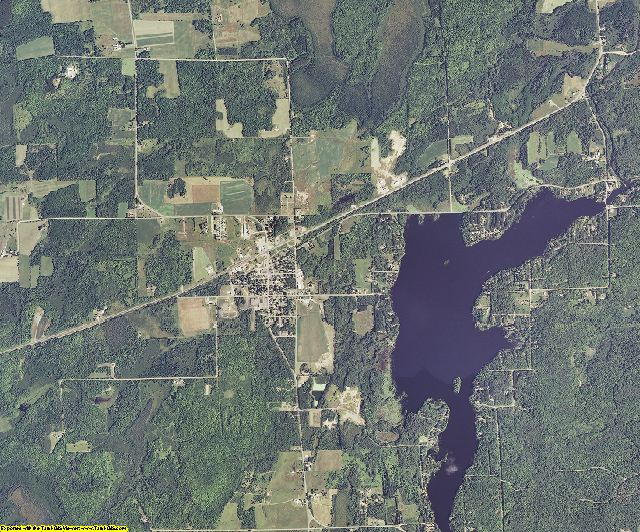 Sawyer County, Wisconsin aerial photography