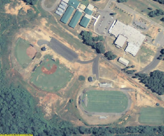 Schley County, GA aerial photography detail