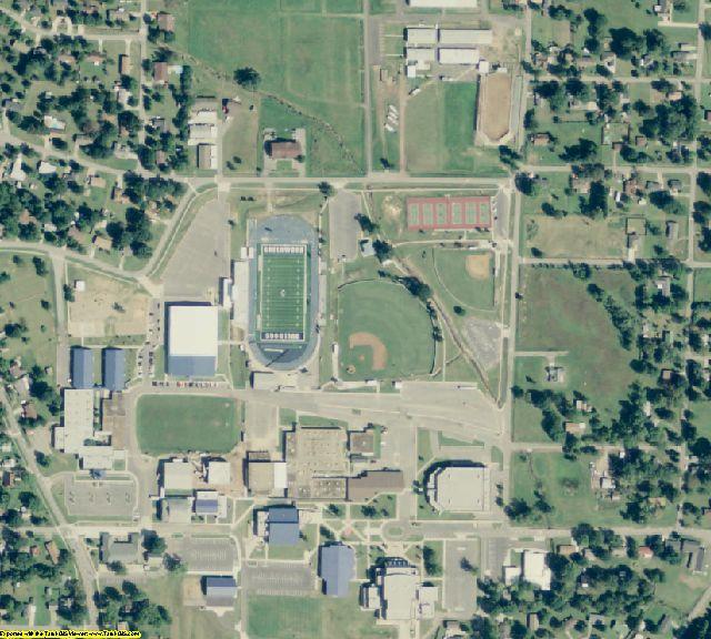 Sebastian County, AR aerial photography detail