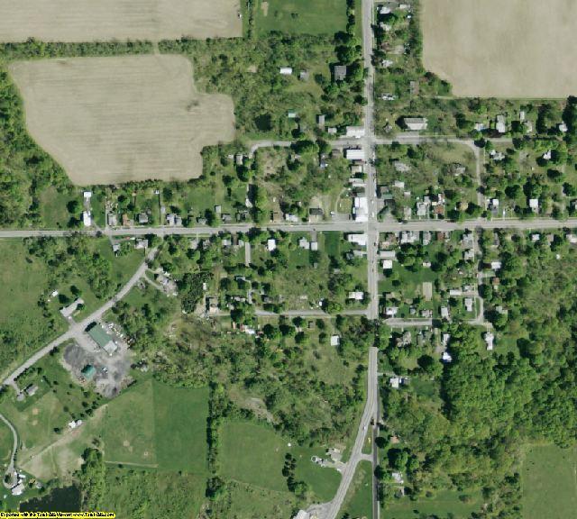 Seneca County, NY aerial photography detail