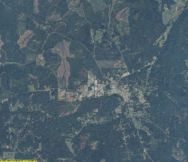 Shelby County, Alabama aerial photography