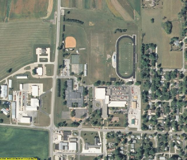 Shelby County, IL aerial photography detail