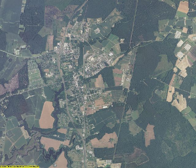 Somerset County, Maryland aerial photography
