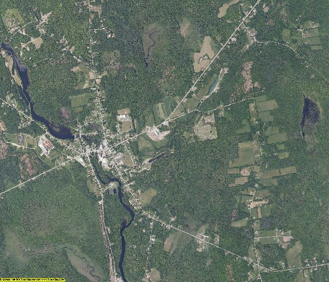 Somerset County, Maine aerial photography