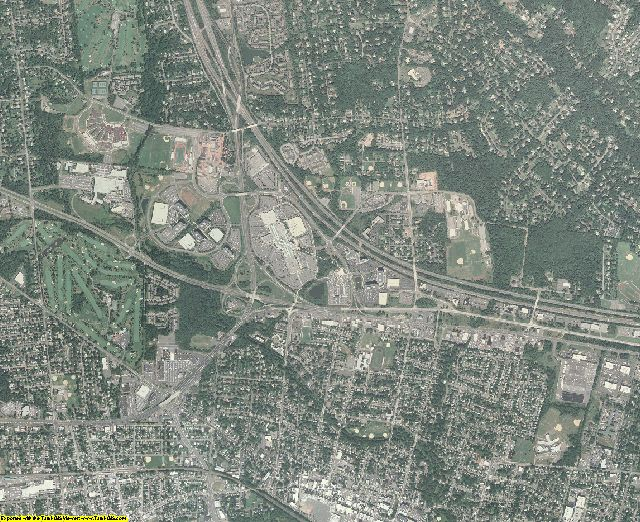 Somerset County, New Jersey aerial photography