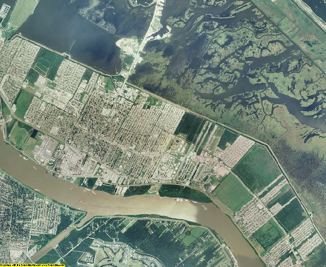 St. Bernard County, Louisiana aerial photography