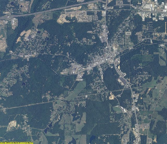 St. Clair County, Alabama aerial photography