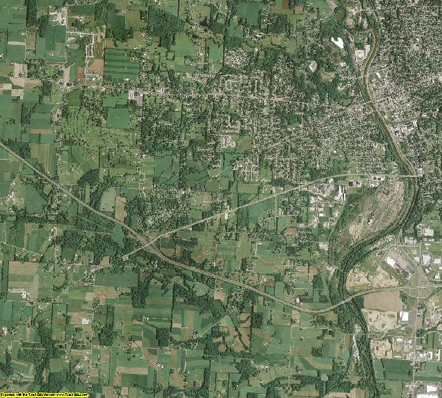Stark County, Ohio aerial photography