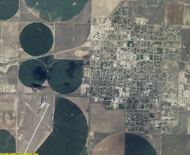 Stevens County, Kansas aerial photography