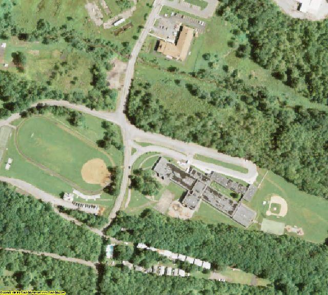 Sullivan County, NY aerial photography detail