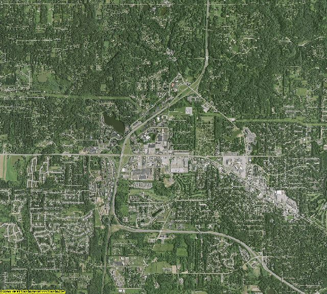 Summit County, Ohio aerial photography
