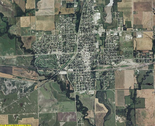 Sumner County, Kansas aerial photography