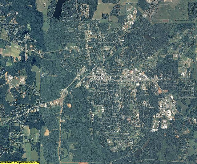 Sumter County, Georgia aerial photography