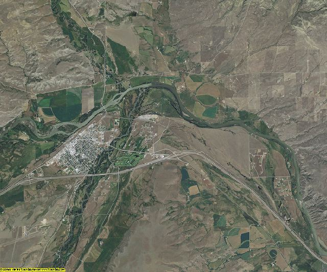 Sweet Grass County, Montana aerial photography