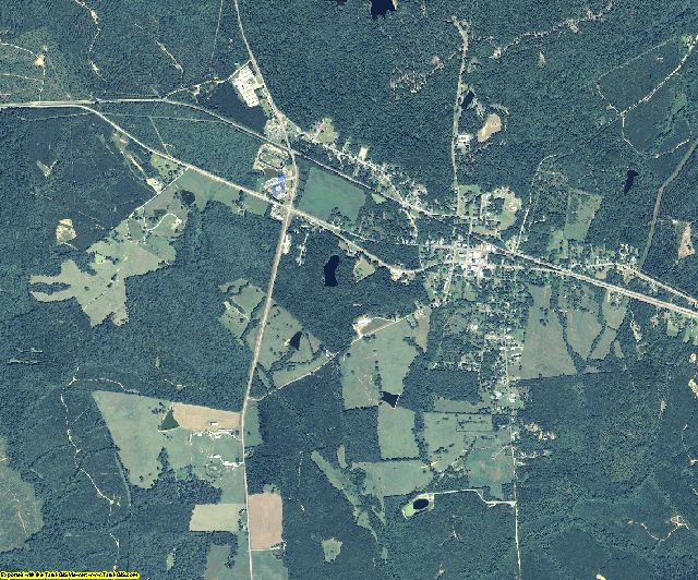Taliaferro County, Georgia aerial photography