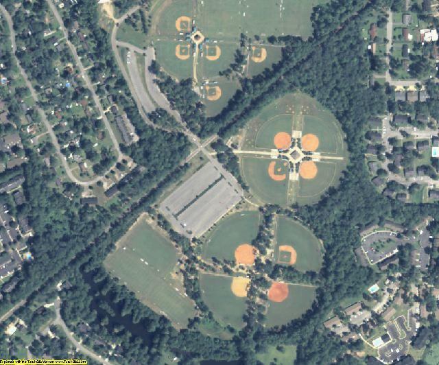 Thomas County, GA aerial photography detail