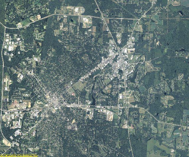Thomas County, Georgia aerial photography