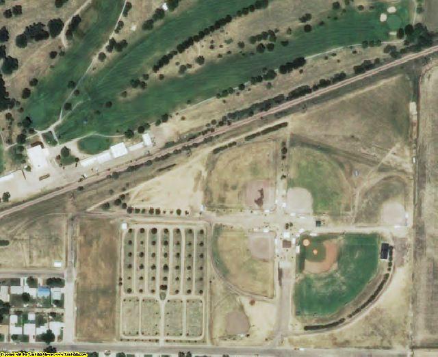 Thomas County, KS aerial photography detail