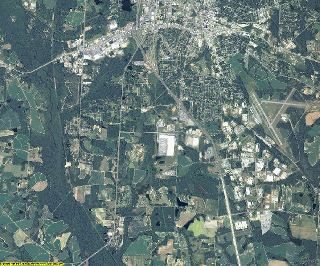 Tift County, Georgia aerial photography