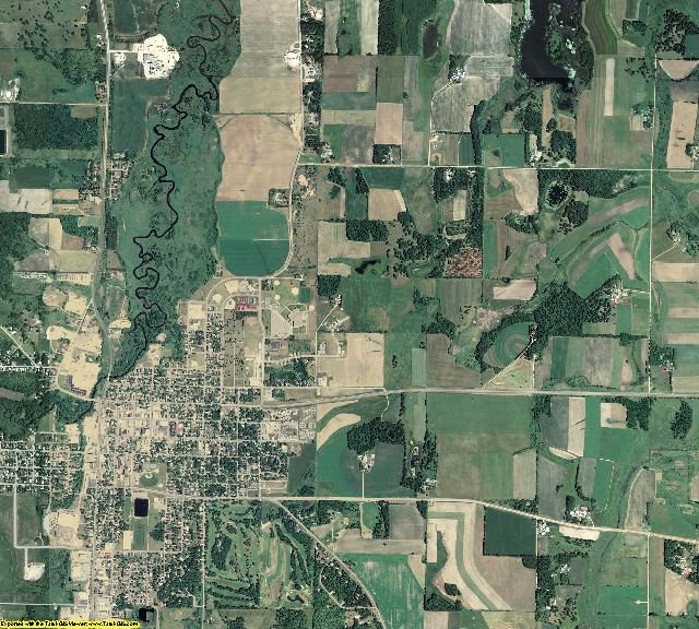 Todd County, Minnesota aerial photography