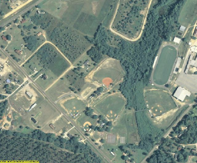 Treutlen County, GA aerial photography detail