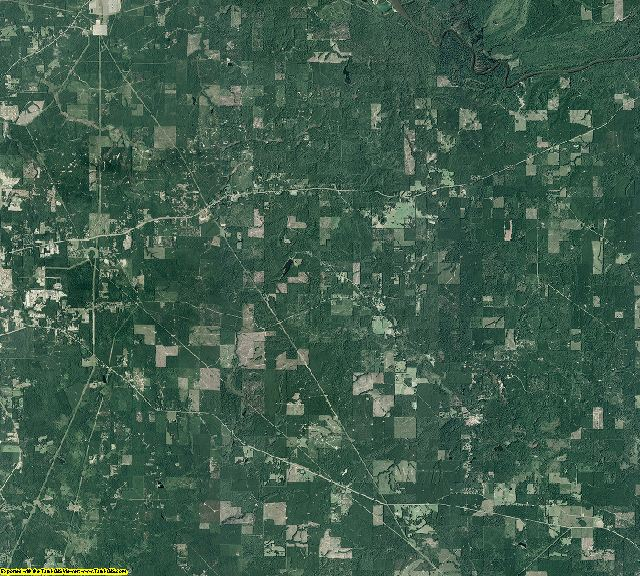 Union County, Arkansas aerial photography