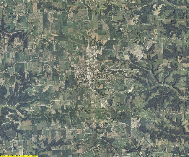 Vernon County, Wisconsin aerial photography