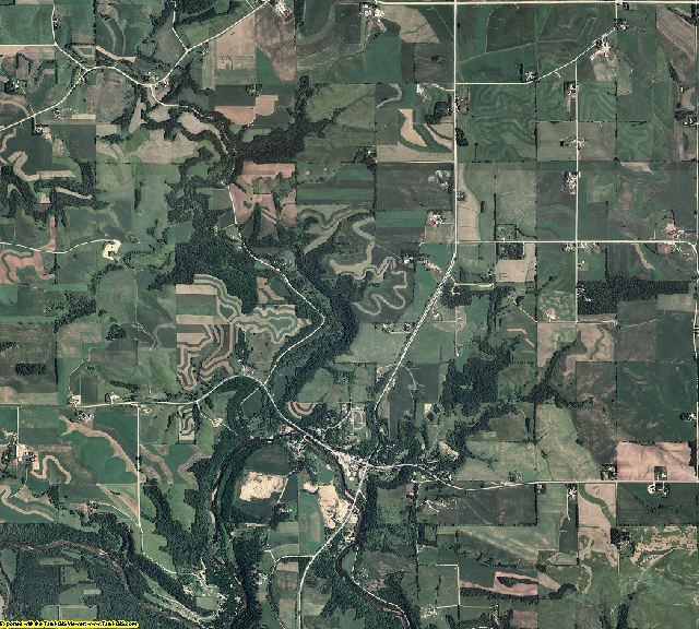 Wabasha County, Minnesota aerial photography