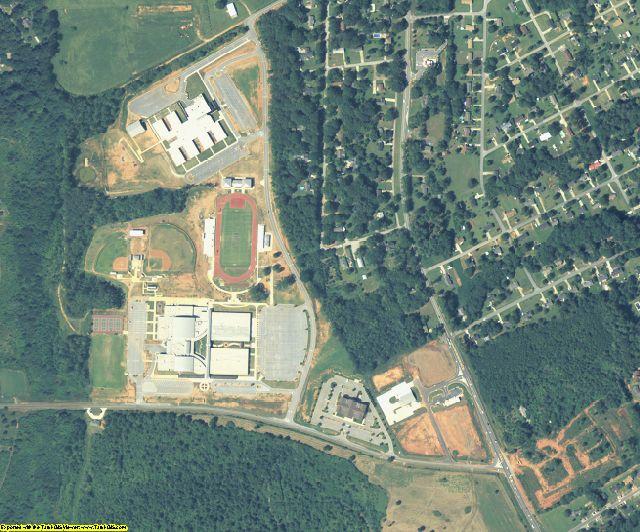 Walton County, GA aerial photography detail