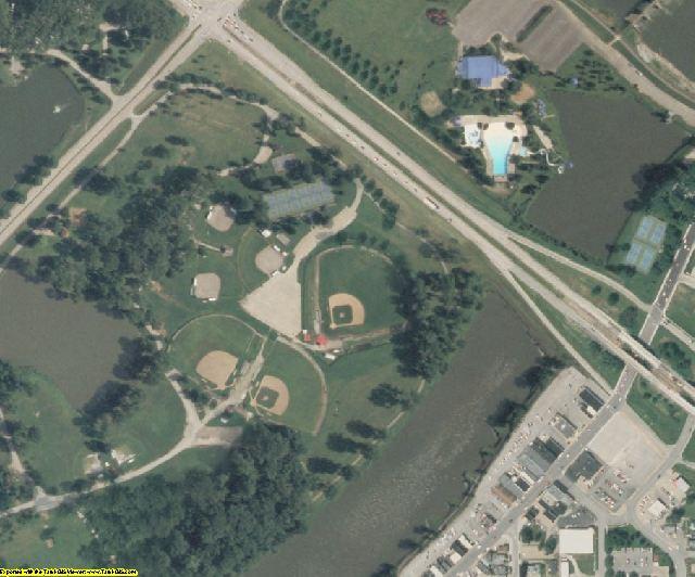 Wapello County, IA aerial photography detail