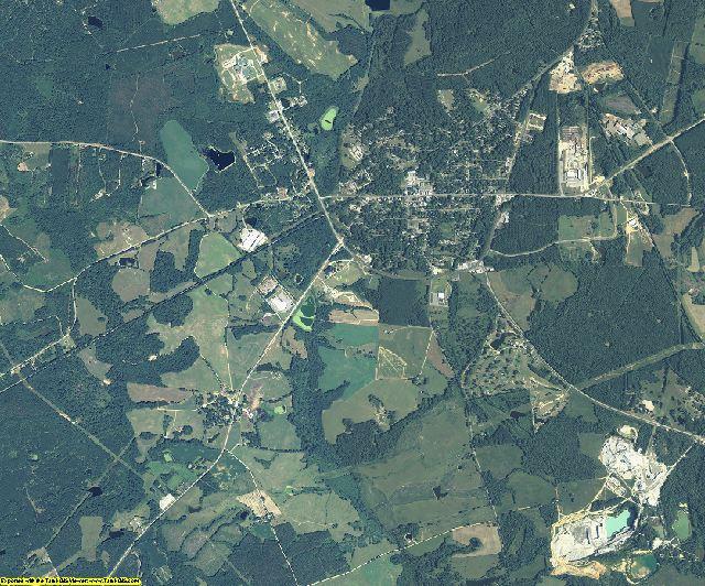Warren County, Georgia aerial photography