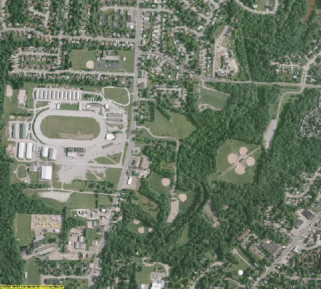 Warren County, OH aerial photography detail