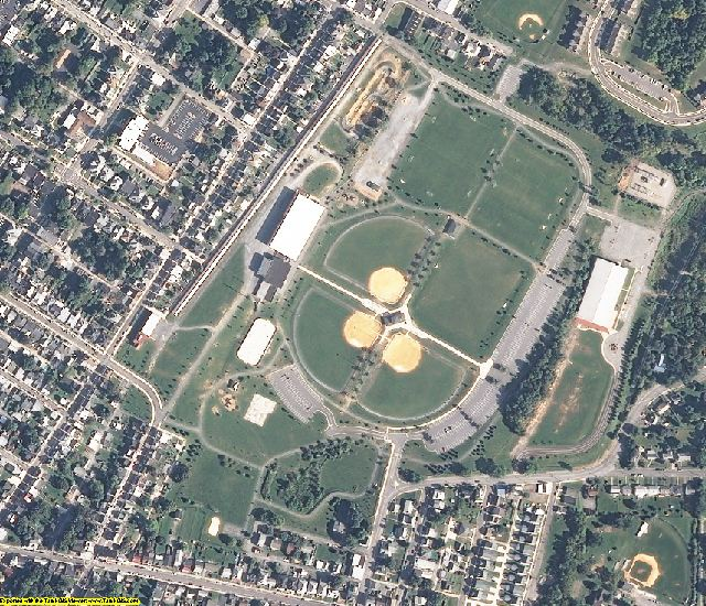 Washington County, MD aerial photography detail
