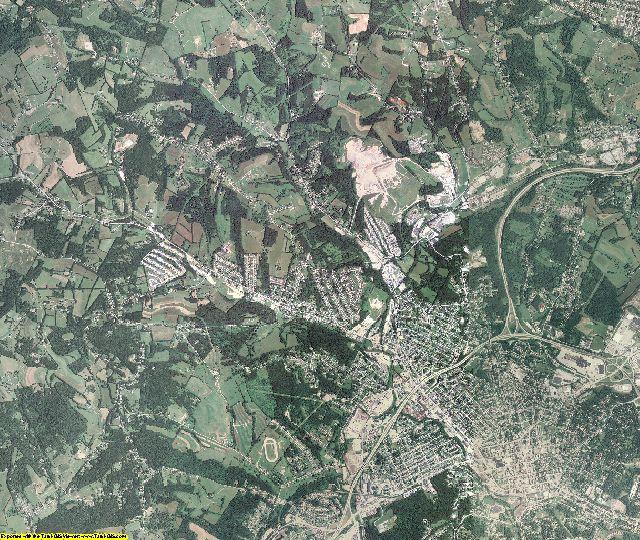 Washington County, Pennsylvania aerial photography