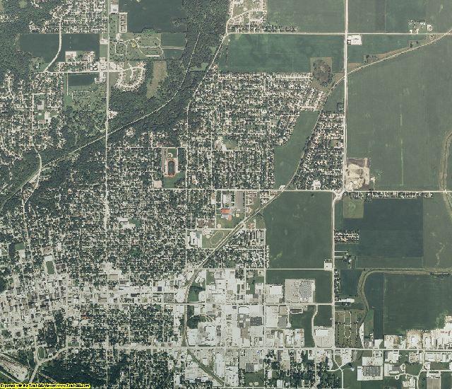 Iowa aerial photography